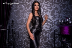 FetishJulia-with-leather-dress-MARKED
